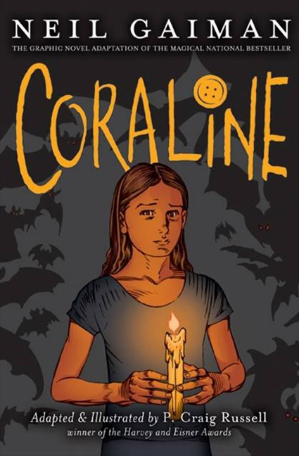 Graphic Novel Book Cover : Neil gaiman s work comics coraline