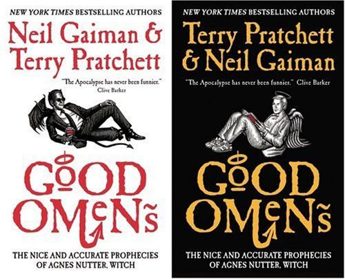 Good Omens Neil Gaiman and Terry Pratchett SFBC 2006 50TH Anniversary # 30 HC